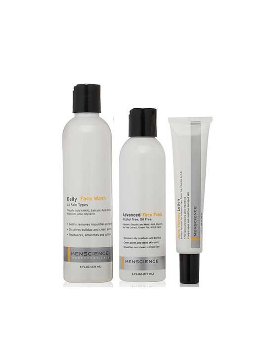 MenScience Acne Treatment Set